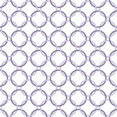 Purple and White Interlaced Circles Textured Fabric Background — Stock Photo