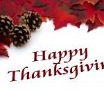 Autumn Time Happy Thanksgiving — Stock Photo #34898175