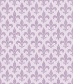 Pink Fleur De Lis Textured Fabric Background — Stockfoto