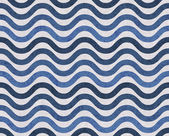 Blue and Gray Wavy Textured Fabric Background — Stock Photo