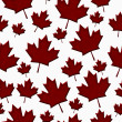 Patriotic Canadian Textured Fabric Background — Stock Photo