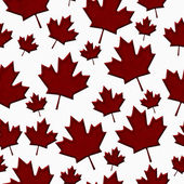 Patriotic Canadian Textured Fabric Background — Zdjęcie stockowe