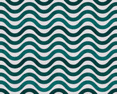 Teal and Gray Wavy Textured Fabric Background — Stock Photo