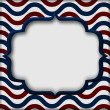 USA Patriotic Background — Stockfoto