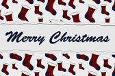 Merry Christmas Message — Stock Photo