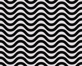 Black and White Wavy Textured Fabric Background — Stock Photo