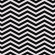 Black and White Zigzag Textured Fabric Background — Stockfoto