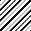 Black and White Striped Textured Fabric Background — Stock Photo