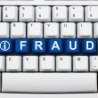 Getting information about Online Fraud — Stok fotoğraf