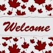 Welcome to Canada — Stock Photo