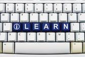 Getting Training on the Internet — 图库照片