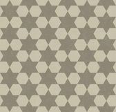 Beige Hexagon Patterned Textured Fabric Background — Stock Photo