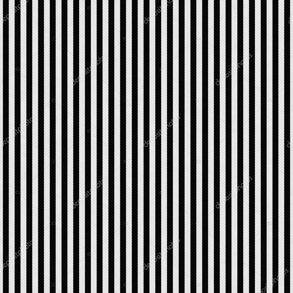 Rayas Blancas Y Negras Con Textura De Fondo De Tela Foto