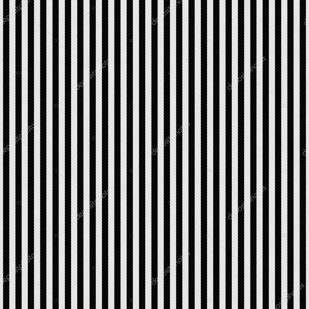 Black And White Stripes Textured Fabric Background Stock