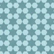 Teal Hexagon Patterned Textured Fabric Background — Stock Photo