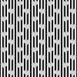 Black and White Hearts and Stripes Textured Fabric Background — Stock Photo #35803851