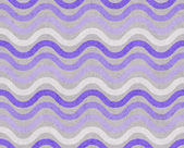 Purple and Gray Wavy Textured Fabric Background — Stock Photo
