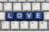 Find Love on the Internet — Stock Photo