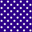 White Polka Dots on Purple Textured Fabric Background — Stock Photo #36362125