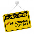 Warning of Un Affordable Healthcare — Stock Photo #36520733