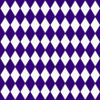 Purple and White Diamond Shape Fabric Background — Foto Stock