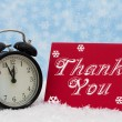 Christmas is a Time to be Thankful — Stock Photo #36663511