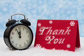 Christmas is a Time to be Thankful — Stockfoto