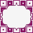 Pink and White Tapestry Square Fabric Background — Stock Photo