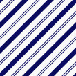 Navy Blue Diagonal Striped Textured Fabric Background — Stock Photo #37452145