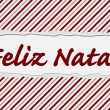 Feliz Natal Happy Holidays — Stock Photo