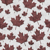 Grunge Patriotic Canadian Textured Fabric Background — Stockfoto