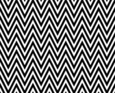 Thin Black and White Horizontal Chevron Striped Textured Fabric — Stock Photo
