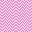 Stock Photo: Thin Bright Pink and White Horizontal Chevron Striped Textured F