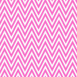 Thin Bright Pink and White Horizontal Chevron Striped Textured F — Stock Photo