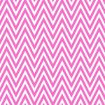 Thin Bright Pink and White Horizontal Chevron Striped Textured F — Stock Photo