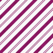 Pink Diagonal Striped Textured Fabric Background — Stock Photo