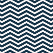 Navy Blue and White Zigzag Textured Fabric Background — Stock Photo