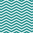 Dark Teal and White Zigzag Textured Fabric Background — Stock Photo