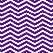 Dark Purple and White Zigzag Textured Fabric Background — Stock Photo