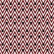 Red and White Horizontal Chevron Striped with Polka Dots Backgro — Stock Photo #38160987