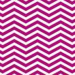 Dark Pink and White Zigzag Textured Fabric Background — Stock Photo