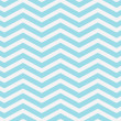 Teal and White Zigzag Textured Fabric Background — Stock Photo #38352875