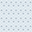 Pale Blue and White Horizontal Chevron Striped with Polka Dots B — Stock Photo