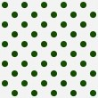 Bright Green Polka Dots on White Textured Fabric Background — Stock Photo #38579047