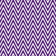 Thin Dark Purple and White Horizontal Chevron Striped Textured F — Stock Photo
