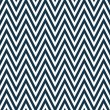 Thin Navy Blue and White Horizontal Chevron Striped Textured Fab — Stock Photo