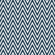 Thin Navy Blue and White Horizontal Chevron Striped Textured Fab — Stock Photo #38585283