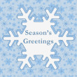 Season's Greetings — Stock Photo #38585285