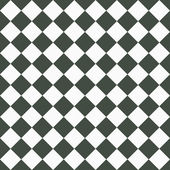 Medium Gray and White Diagonal Checkers on Textured Fabric Backg — Stock Photo
