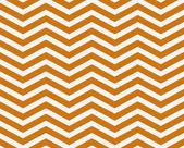 Dunklen orangefarbenen und weißen Zick-Zack strukturierter Stoff Hintergrund — Stockfoto